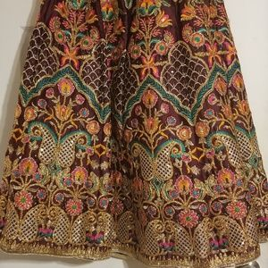Dresses & Skirts - 3 piece rajistani fancy skirt, cholli and dupptta
